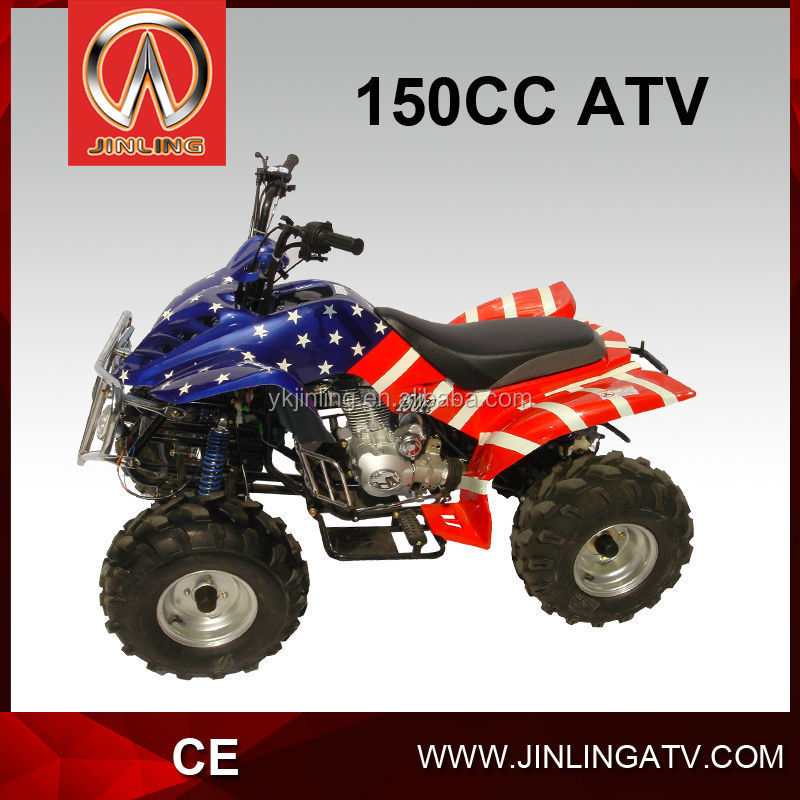 JLA-12-08 Jinling factory direct 150cc gy6 manual atv for sale