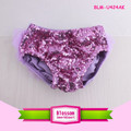 Little girls sparkling shorts newborn ruffled panties polyester diaper cover bling toddler boy baby bloomers shorts sequin girl