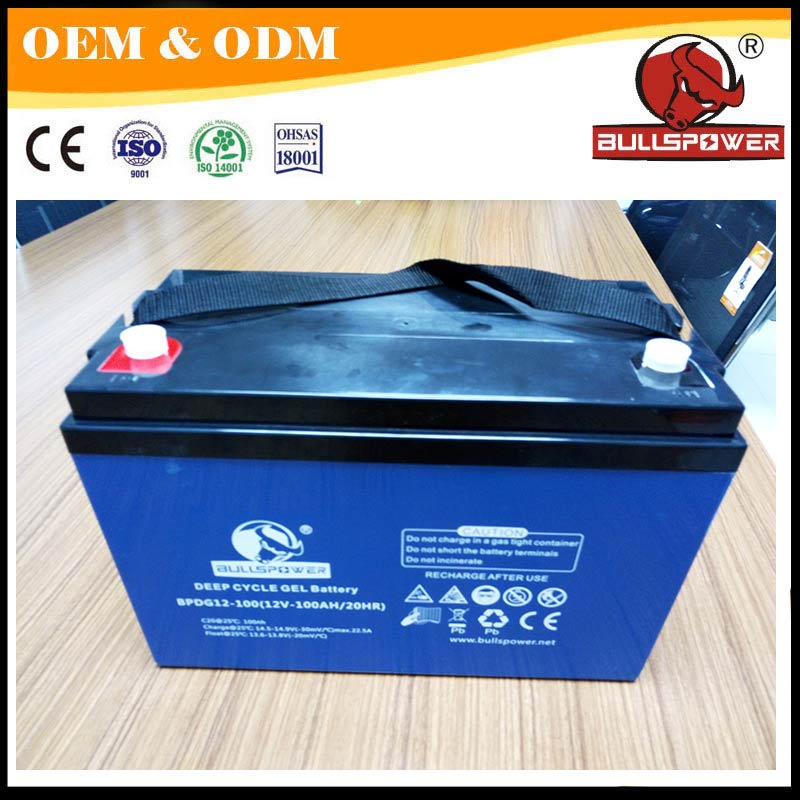 batterie solaire 24v AGM deep cycle solar battery 12v 200ah