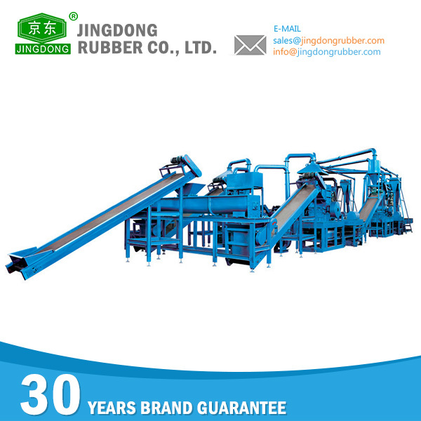 Good Quality rubber machine recycling of tires