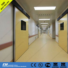 china discount hospital door with low price for operation room with motor sensor viewing window
