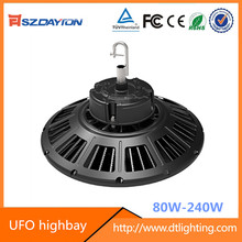 Super Bright Meanwell driver IP65 UFO LED High Bay light industrial lighting led ufo lamp 5 years warranty