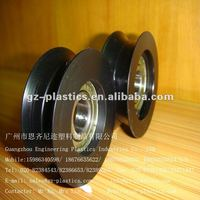 Round belt nylon pulley manufacturer
