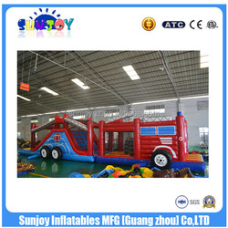 2016 Giant Inflatable Obstacle , Kids Inflatable Obstacle Course , Obstacles For Kids