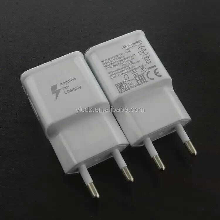 Wholesale 9V fast charger adaptive fast charging wall charger for QC2.0 compatible smart phones for smart phones