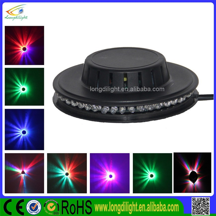 Home party lights swinging light stage 5w led disco effect light