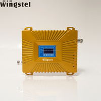 Dual band GSM 3G 900 2100MHz Mobile Phone Signal Booster for Home Use