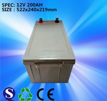 12V 200AH Maintenance Free Solar Gel Battery Made In China from feilang battery
