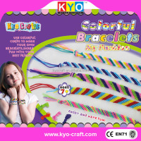 Beautiful colorful hot bracelet loom bands