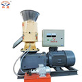 Factory sale flat die biomass wood pellet making machine