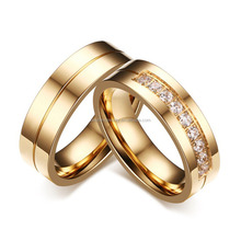 New Trendy Tops Plain High Polished Saudi Gold Ring Jewelry designs for Lover