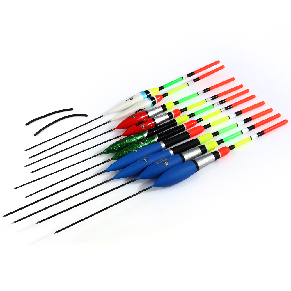 4468030 TOP10 BEST FACTORY SALE high quality balsa hot selling 10pcs/set <strong>fishing</strong> float