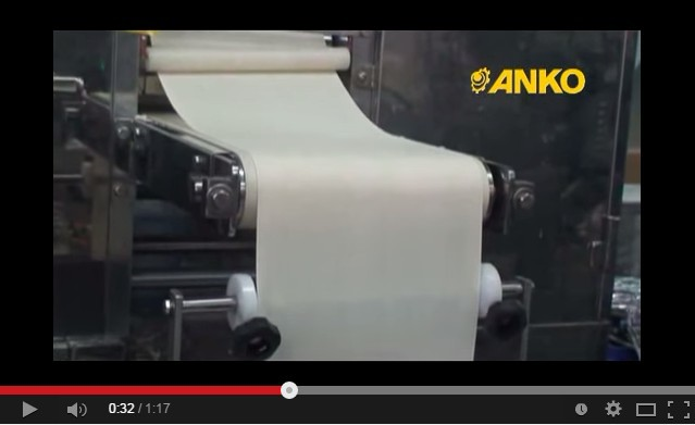 Anko Extrusion Frozen Snack Automatic Egg Roll Machine