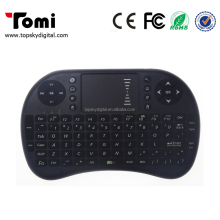 Hot I8 2.4G Fly Air Mouse Mini Wireless keyboard With Touchpad For Laptop Tablet Pad For Xbox For PS3 For Andriod TV Box