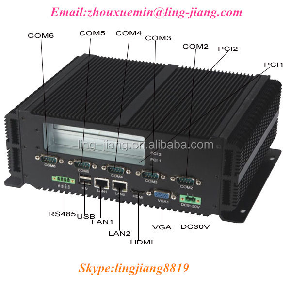 GM45 Chipset BOX with integrated GMA X4500 chipset (LBOX-GM45)