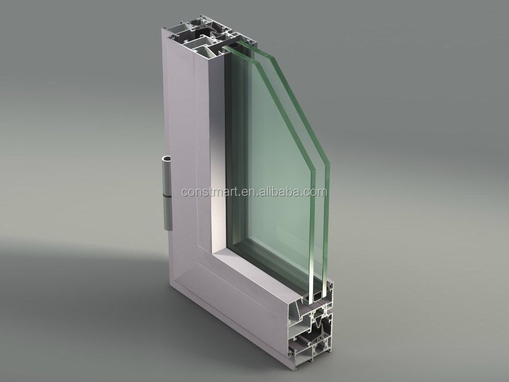 T -slot V- slot Aluminum Profile Extrusion for sliding and folding door