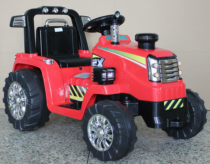 Electric Tractor Plastic 6Volt Battery Powered Ride on Car For Kids