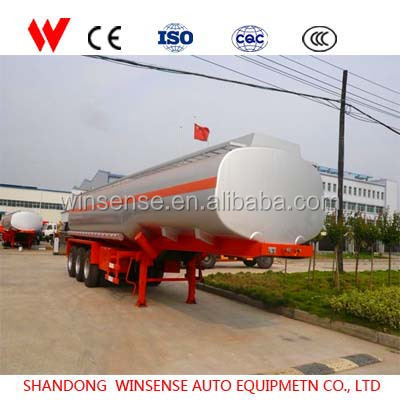 Wholesale Products Steel Material Transport Oil 3 Axle 45000 And 50000 Liters Fuel Tank Semi Trailer For Sale