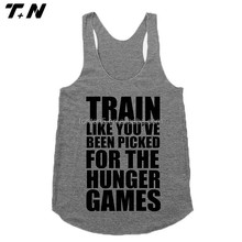 y back stringer cotton tank top custom printed