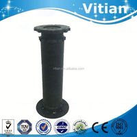 110mm black acrylic pedestal table from vitian