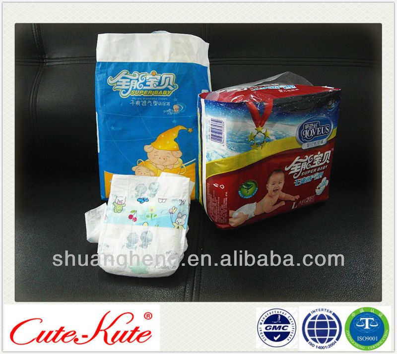 Nice and breathable Baby diaper in Bulk with favorable price
