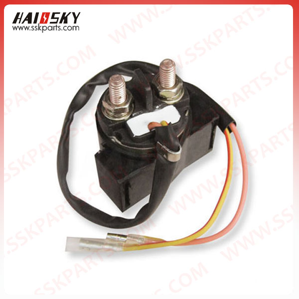 Haissky motorcycle spare parts 12v 24v motorcycle starter relay