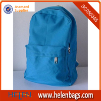 Italy solar school book bag blue color nice teens bag