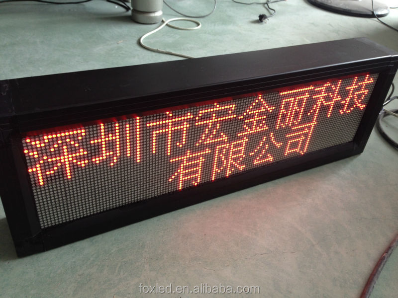 p10 single/red color led display screen/led display panel/led/sign/board/billboard