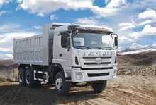 CHEAPEST PRICE LOW PRICE!! HIGH QUALITY CHINESE RELIABLE ENGINE TRUCK CTC-SINOPOWER 6X4 DUMP TRUCK