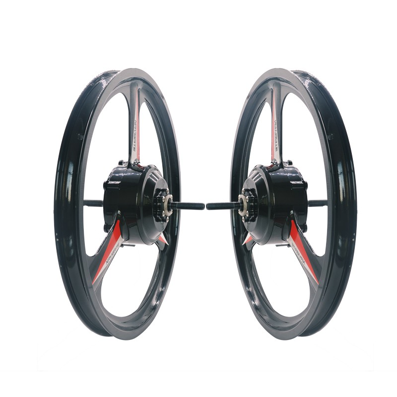 JB-20'' magnesium alloy electric bicycle in wheel hub motor