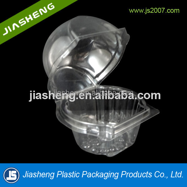 clear plastic round dome clamshell cake packaging calmshell boxes
