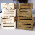 Vintage recycled cheap wooden crates
