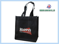 New Beauty Handle non-woven striped shopping bag