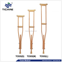 Orthopedic Wooden Disabled Crutch