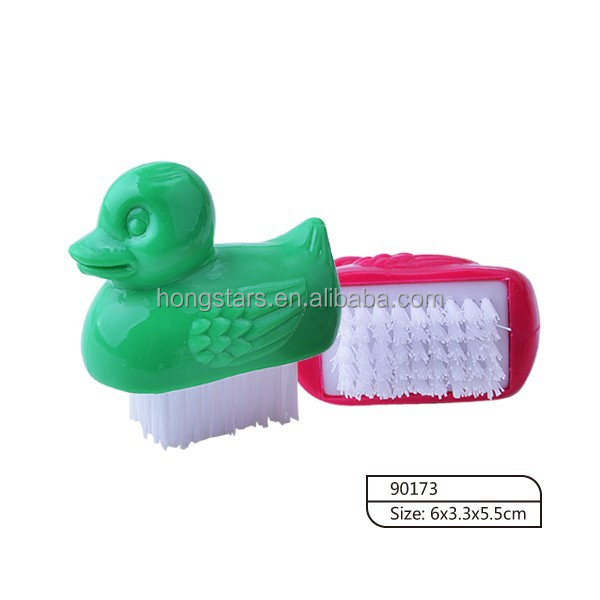 Animal Shaped Plastic Nail Brush