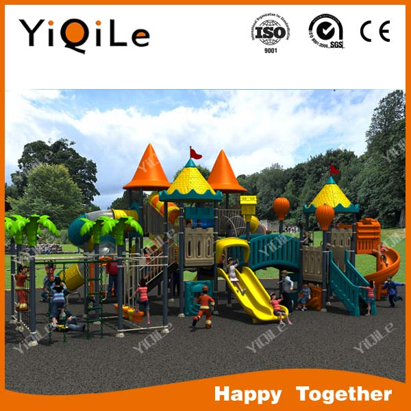 Fashionable kids outdoor play center entertainment center jungle gym