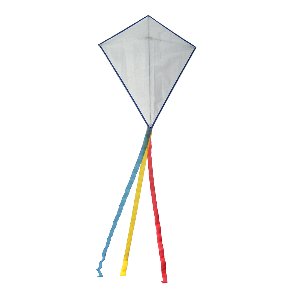 blank diamond diy kites polyester