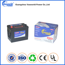 Electric Starters rechargeable battery 12v 60ah car battery