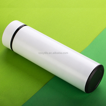 The bullet double layer stainless steel vacuum thermos cup for car and office