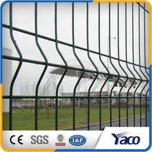 PVC top coat top grade quality 3D profiled panels fence