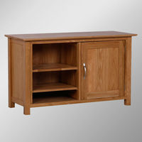 903 Range 100% Solid Oak Small TV stand/Oak TV Cabinets