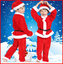 China supply red christmas character costumes