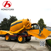 3.5 m3 4X4 Diesel Self loading Concrete Mixer Propelled Small Concrete Mobile Truck for Sale