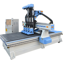 Muti sipndle 4d woodworking cnc router price for arts and crafts