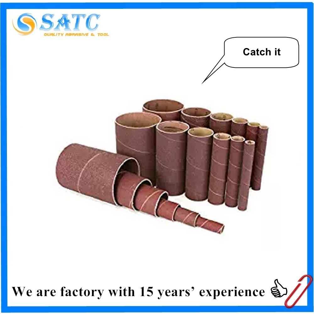 tools top quality aluminum oxide industrial sanding bands , sanding sleeve