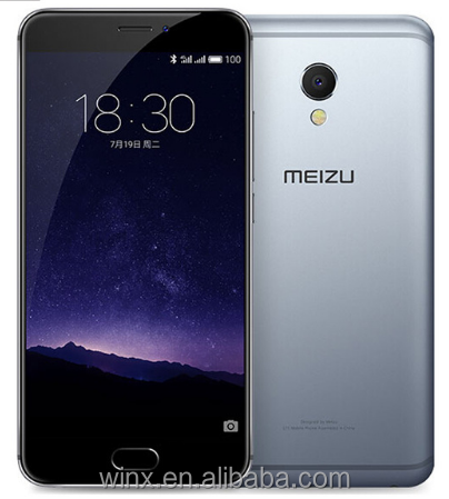 Original Meizu MX6 cell phone unlocked 5.5 inch 4GB RAM 32GB ROM 1920*1080 winx