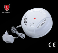 gas alarm detector GS867 with DC9V battery back up