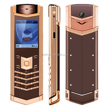 ASCENT M7i 1.77 inch GSM Quad Band Single SIM Glass Keyboard Luxury Gold Good Looking Mobile Phone
