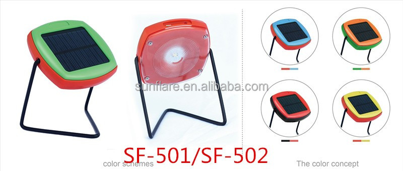 solar powered lamp/lighting/lantern on table with 5 years lifespan battery