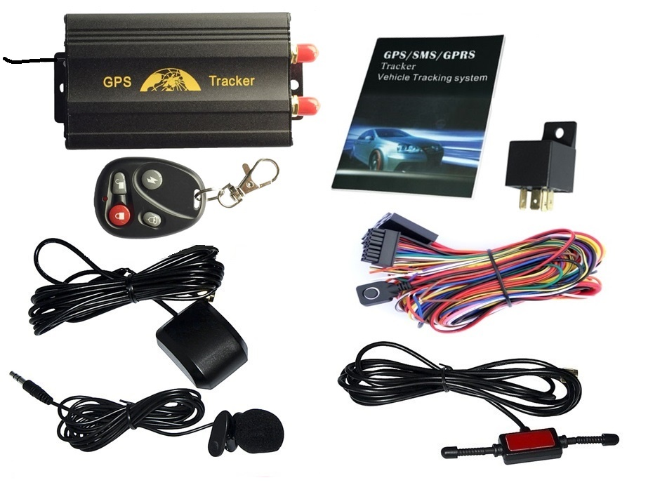 newest tk103b+ car gps tracker tk103 gps tracker with phone app software